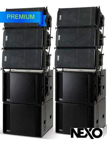 Аренда звуковых комплектов в Москве мощностью 2500 ватт