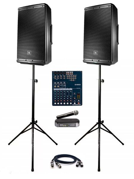 Звуковой комплект в аренду JBL 615 ION (4)